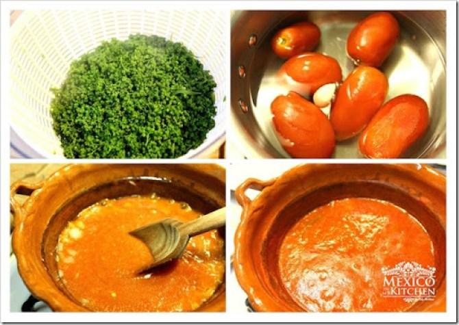 Huauzontle recipe Quelites