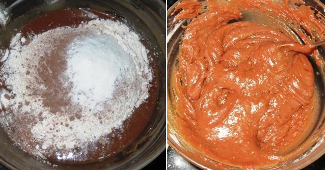 Eggless Mint Chocolate Brownies Recipe | Peppermint Brownies Recipe | Eggless Brownies | Written by Kavitha Ramaswamy of Foodomania.com
