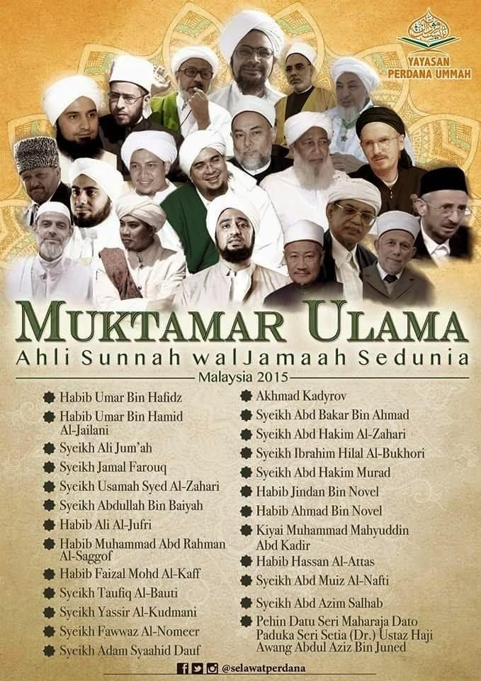 Muktamar Ulama Ahlussunnah wal Jama'ah (Aswaja) di Malaysia