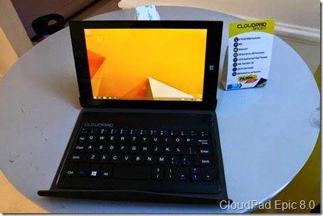 CloudPad Epic 8.0