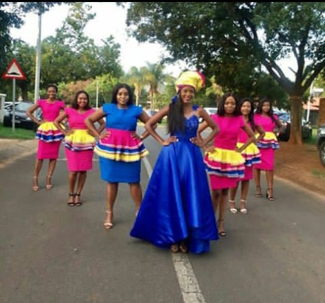 Sepedi Traditional Attire For Ladies 2018 Styles 7