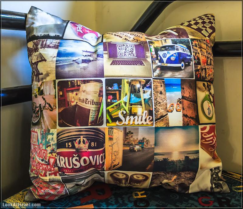 Instagram подушка