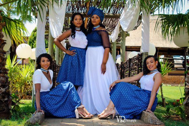 Traditional Shweshwe Dresses For Wedding 2019