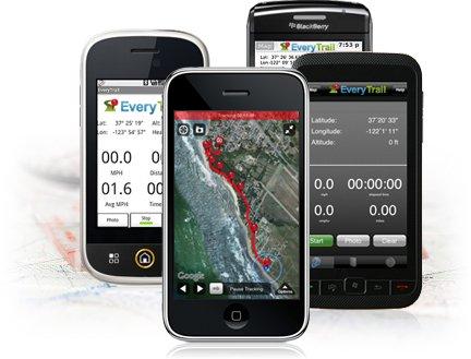 Diarios y mapas en dispositivos moviles