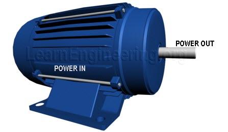 Power transfer in a motor