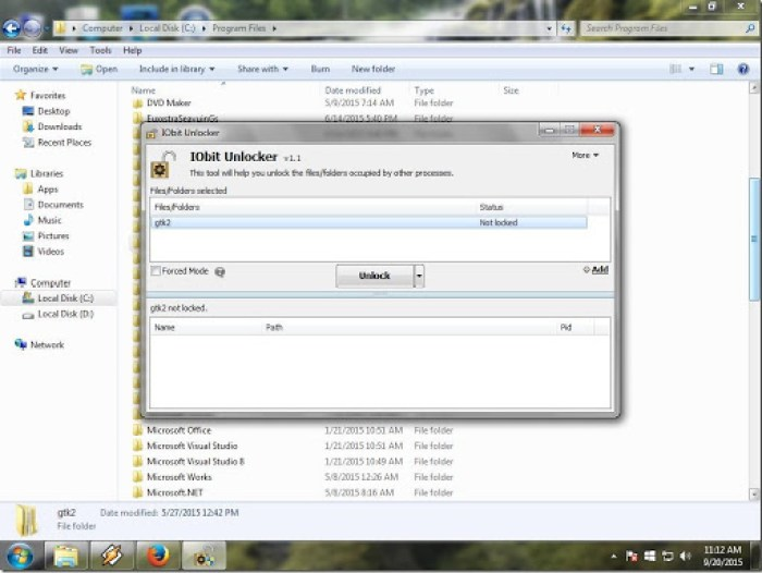 cara menghapus file atau folder yang tidak bisa di hapus