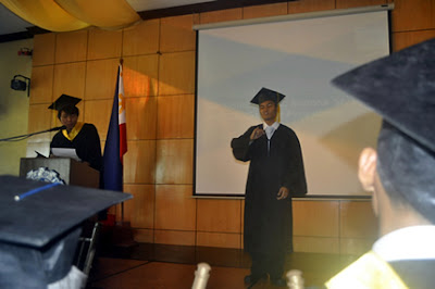 Batch 2012 Awardee Lemuel Alitre gives his special message.