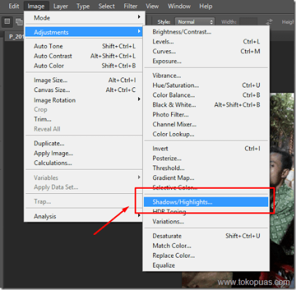 tutorial membuat efek HDR photoshop tutorial