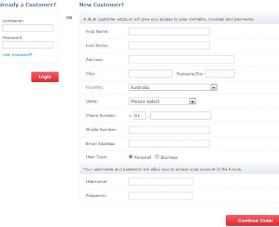 Form Registrasi Promo Domain Murah dot Asia Cuma 1 Dollar