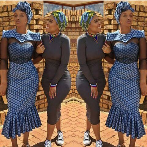 b3c5b9619 Traditional … dresses, South african favorite fashion: beautiful shweshwe  dresses – african tribal fashion