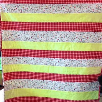 Elizabeths finished quilt