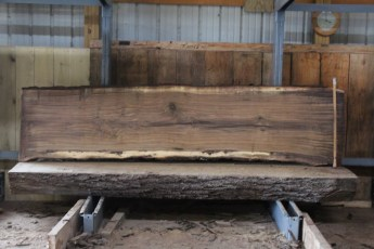 "571  Walnut -4 10/4 x 31"" x  27"" Wide x  10'  Long"