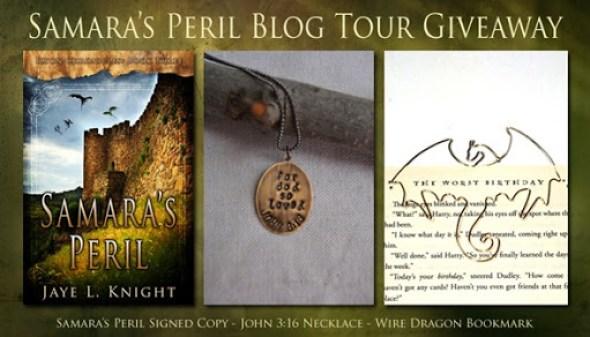 Samara's Peril Blog Tour Giveaway