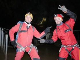 Frédo et Mathieu dans la Verna