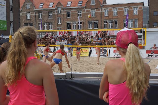 BK Beach volley in Roeselare