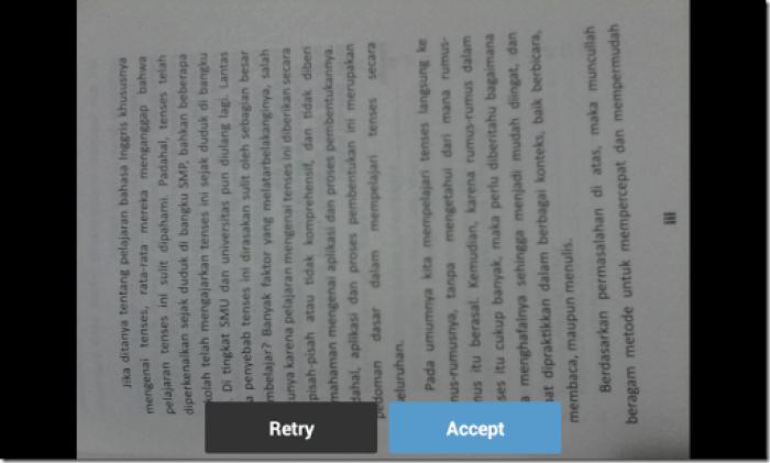 cara scanner dokumen dengan smartphone android