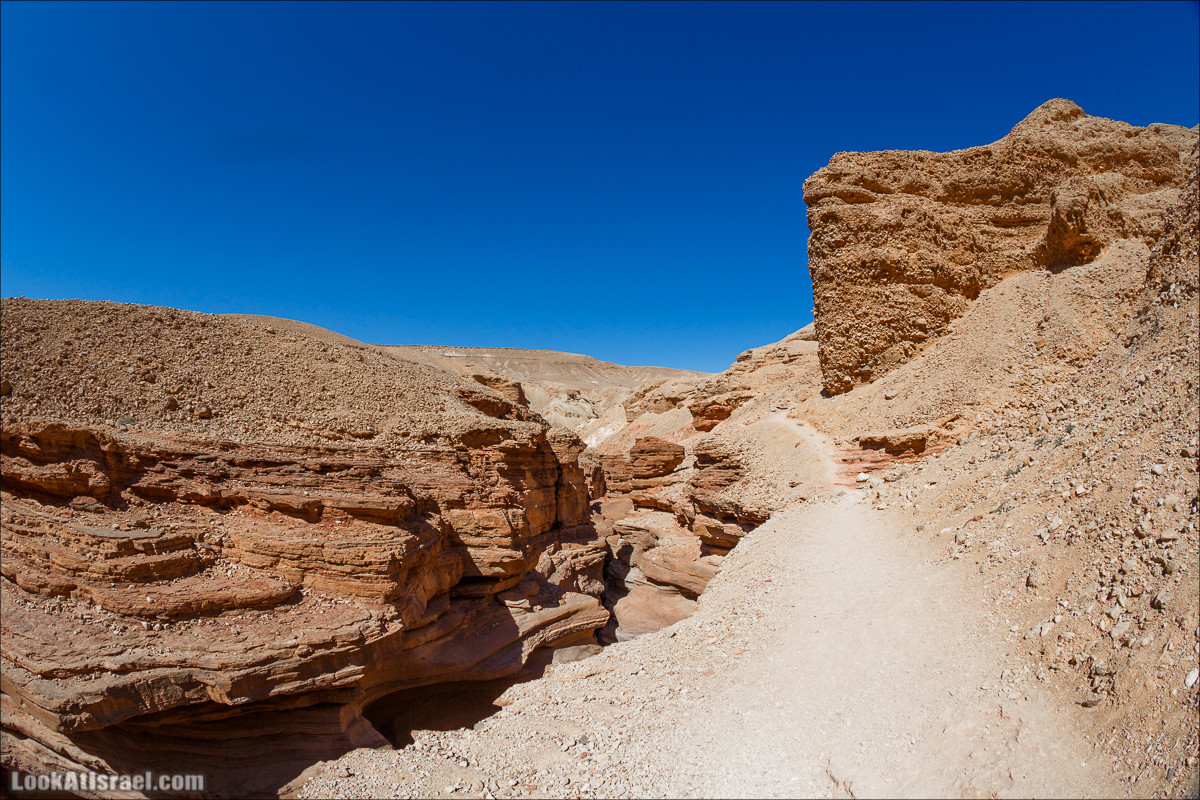 Красный каньон, Эйлат | Red Canyon, Eilat | קניון אדום, אילת | LookAtIsrael.com - Фото путешествия по Израилю