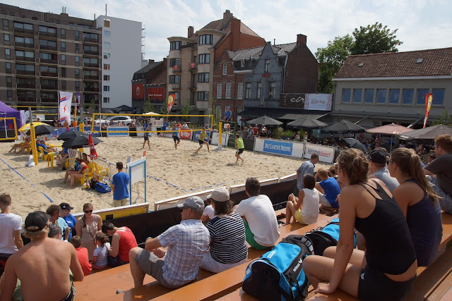 BK Beach volley in Roeselare