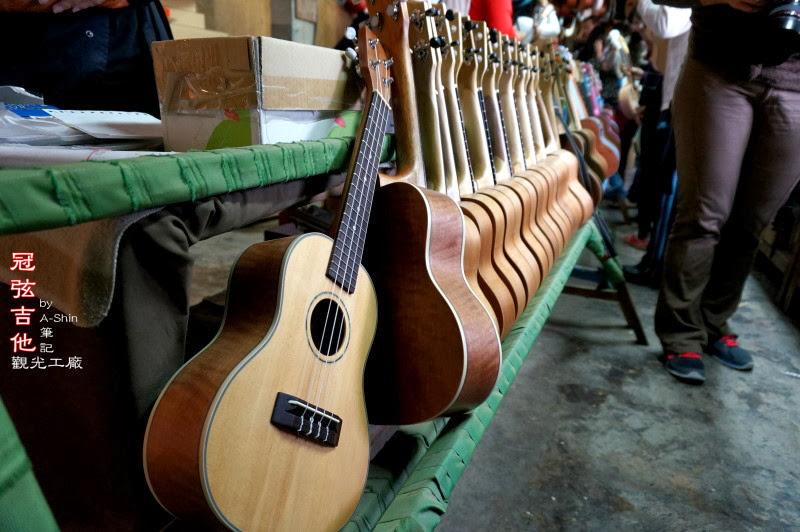 冠弦吉他觀光工廠 -完成品