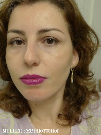 1 Batom em 4 Mulheres - Roxo Heroine