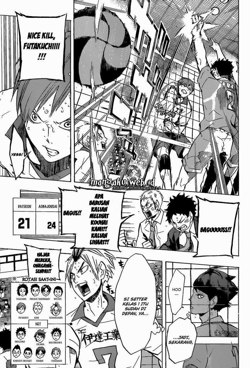 Haikyuu!!: Chapter 127 - Page 12