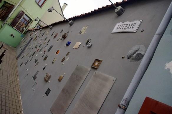 Calle literatos, Vilna, Vilnius