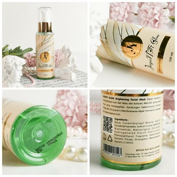 Jayanti Glow Brightening Facial Wash