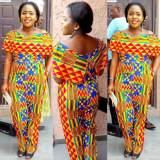 ghana kente dress designs 2017
