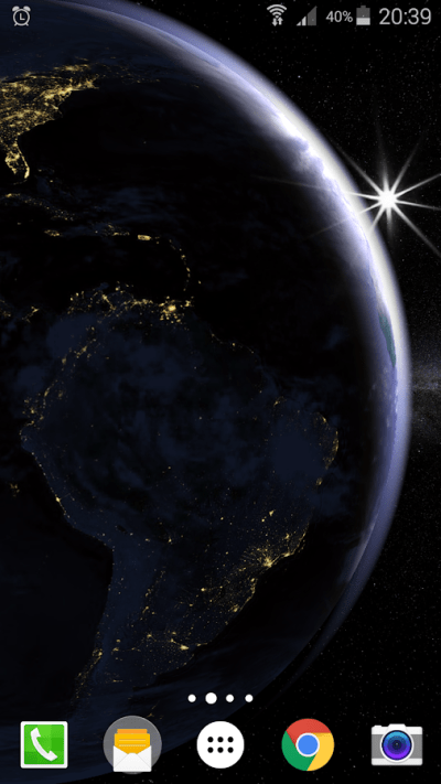 Earth Planet 3D Live Wallpaper - Android Apps on Google Play