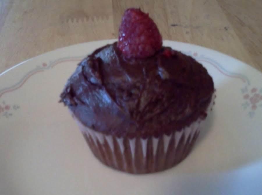 Raspberry Filled Chocolate Cupcakes Recipe