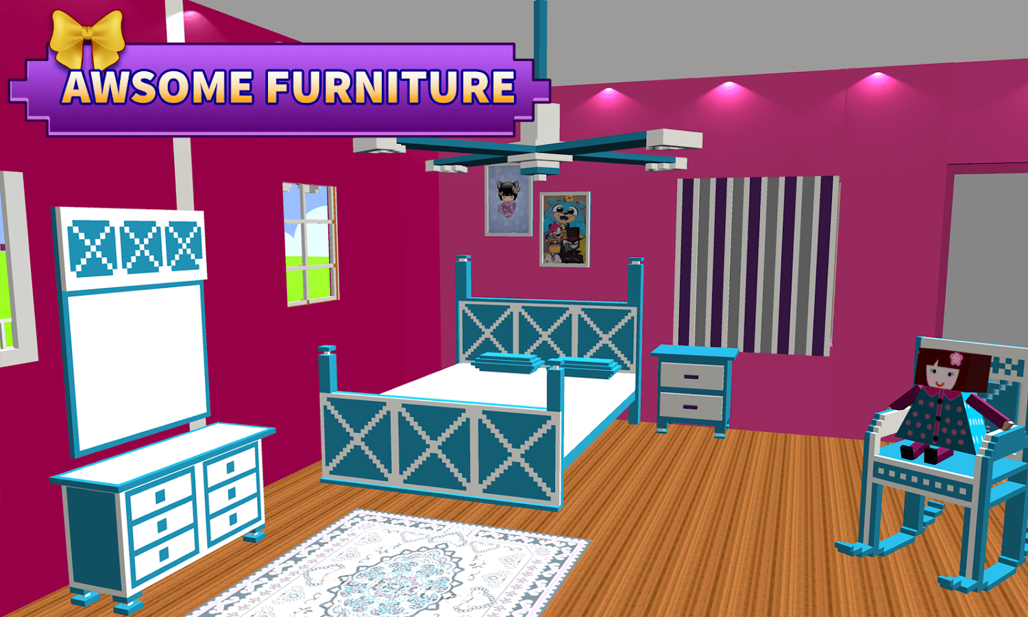 Doll House Decorating Games My New Room 2