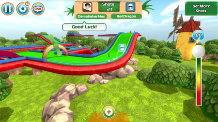 Mini Golf Multiplayer Game   Cartoon Forest   Apps on Google Play Screenshot Image