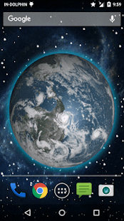 3D Moving Earth Live Wallpaper – Aplikacje na Androida w ...