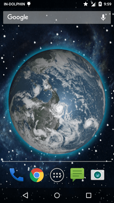 3D Moving Earth Live Wallpaper - Android Apps on Google Play