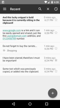 Screenshot Clipboard + Notes