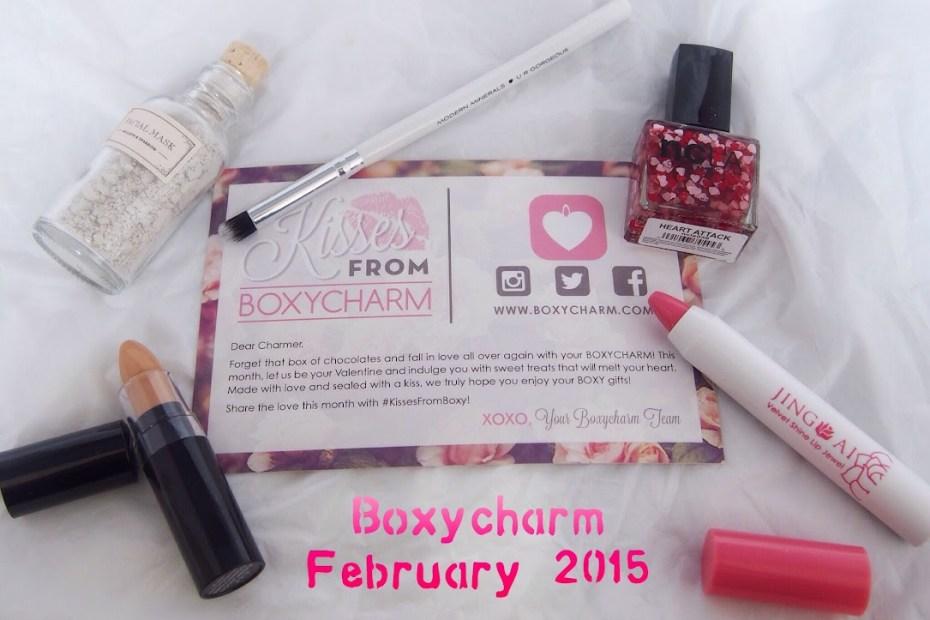 Boxycharm February 2015