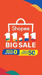 Screenshot Shopee 11.11 Big Sale