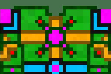 Gun Pixel Art Minecraft Gundam Path Decorations Pictures Full - Skin para minecraft pe fuego