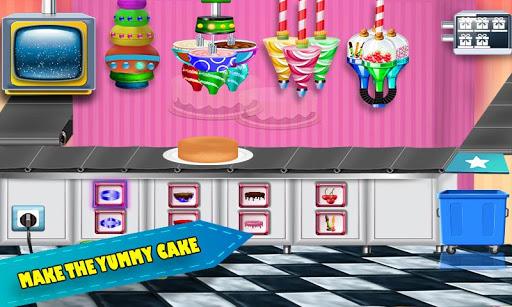 Download Birthday Chocolate Cake Factory Dessert Food