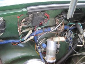 Help identifing electrical parts on 1980 : MGB & GT Forum : MG Experience Forums : The MG Experience