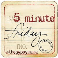 The Dot On the Horizon {Five Minute Friday}