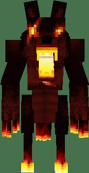 Fire Werewolf Nova Skin
