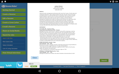 Resume Maker     FREE   Apps on Google Play Screenshot Image