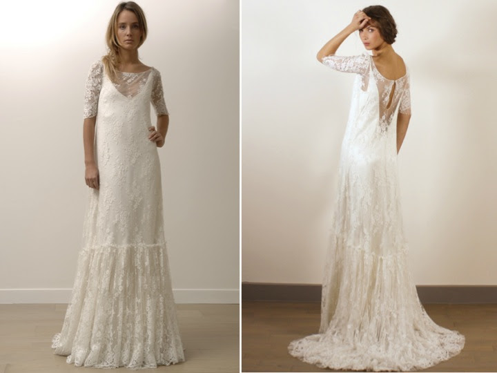 Tanya's Blog: Romantic Modified Aline Lace Wedding Dresses
