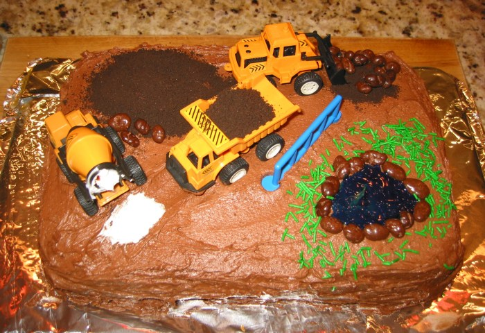 Birthday Cake Ideas Truck For Boy Birthday Cakes For Boys