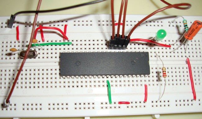 Electronic Circuits And Projects: Interfacing LED With