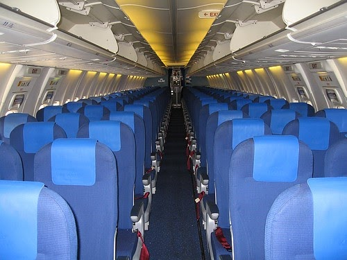Airplane Pics Klm 737 Cabin Interior Photo