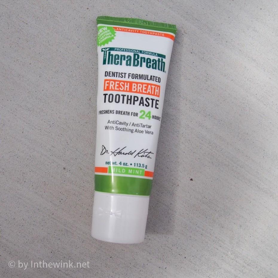 TheraBreath Fresh Breath Toothpaste Mild Mint