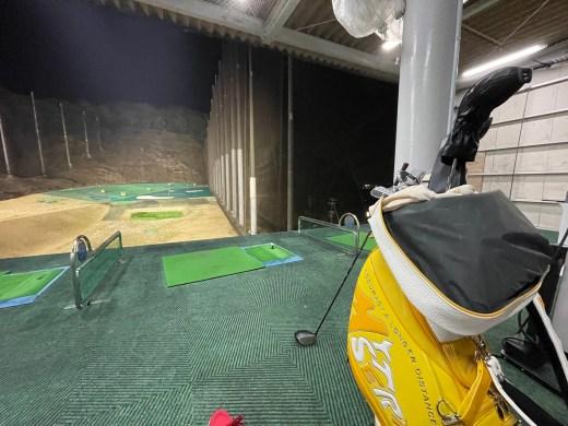 ゴルフの練習をしよう