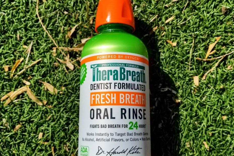 TheraBreath Fresh Breath Oral Rinse Mild Mint